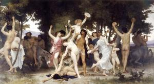 William Adolphe Bouguereau - Juventude de Baco
