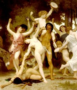 William Adolphe Bouguereau - Centro da Juventude Bacchus dt