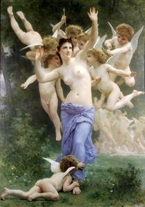 William Adolphe Bouguereau - O ninho