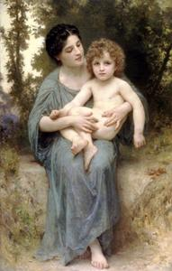 William Adolphe Bouguereau - O irmão mais novo