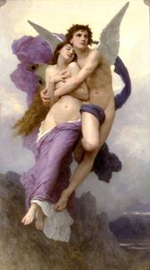 William Adolphe Bouguereau - O êxtase da psique