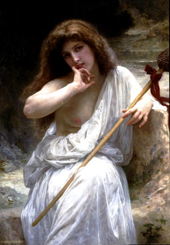 Mailice, óleo por William Adolphe Bouguereau (1825-1905, France)