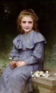 William Adolphe Bouguereau - Margaridas