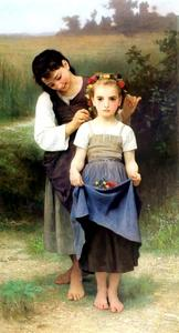 William Adolphe Bouguereau - Campos parure