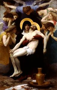 William Adolphe Bouguereau - Pieta 1876