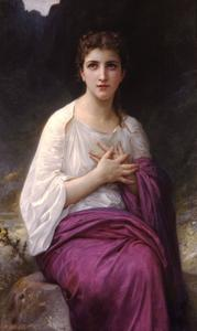 William Adolphe Bouguereau - Psique