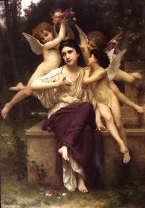 William Adolphe Bouguereau - Sonho de Primavera