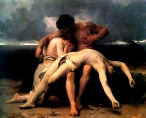 William Adolphe Bouguereau - A Primeira Mourning