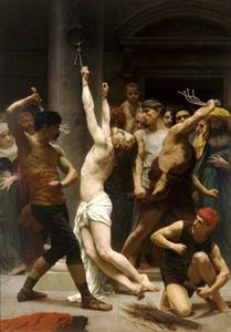 William Adolphe Bouguereau - A Flagelação de Cristo
