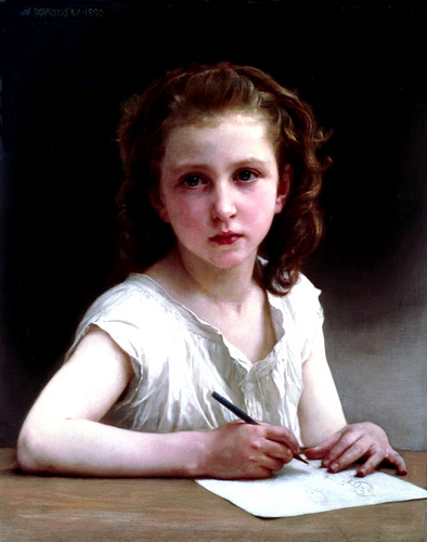 A Vocação por William Adolphe Bouguereau (1825-1905, France) | Copy Pintura | WahooArt.com