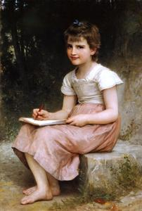 William Adolphe Bouguereau - Vocação 1896