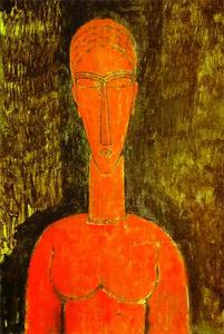 Amedeo Modigliani - O busto Red