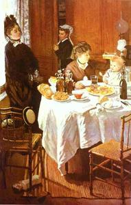 Claude Monet - O almoço