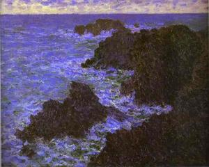 Claude Monet - As rochas da Belle-Ile