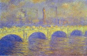 Claude Monet - A ponte de Waterloo