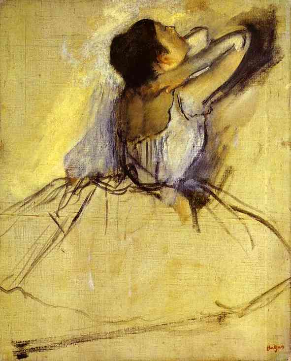 bailarino bailarina petr leo por edgar degas 1834 1917 france. Black Bedroom Furniture Sets. Home Design Ideas