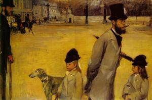 Edgar Degas - Local da Concorde