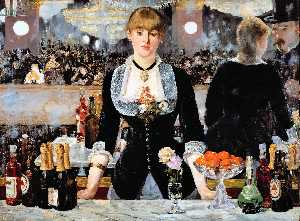 Edouard Manet - um bar no Folies-Bergere