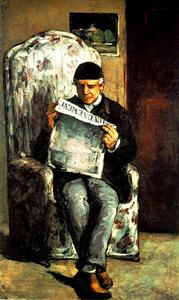 Paul Cezanne - retrato do Pai do artista
