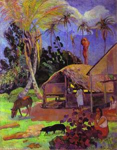 Paul Gauguin - preto porcos