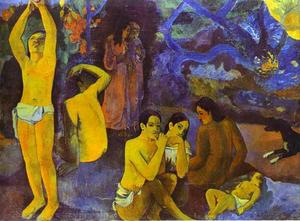 Paul Gauguin - D'où venenos mente That sommes-nous Uo allons-nous ( where do we vem . o que somos . para onde estamos indo )
