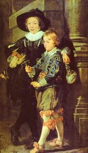 Peter Paul Rubens - Sons do artista Albert e Nicholas