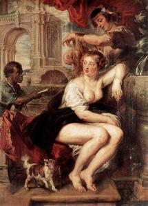 Peter Paul Rubens - bathsheba no fonte