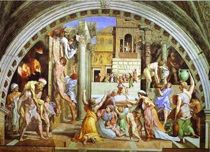 Raphael (Raffaello Sanzio Da Urbino) - The Burning do Borgo