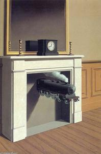 Rene Magritte - Tempo paralisado