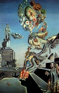 Salvador Dali - lugubrious game , 1929