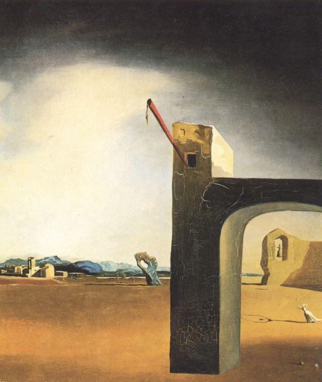 `Morphological Echo` , cerca de 1936, 1936 por Salvador Dali (1904-1989, Spain) |  | WahooArt.com