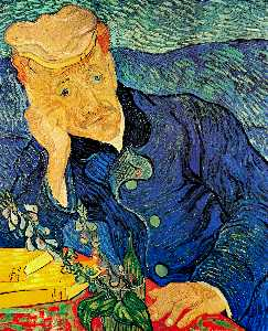 Vincent Van Gogh - retrato do dr . Gachet