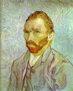 Vincent Van Gogh - Self-Portrait . Saint-Rémy