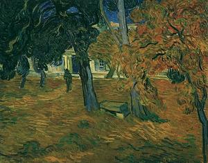 Vincent Van Gogh - Jardim de Saint-Paul Hospital , The7