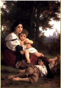 William Adolphe Bouguereau - Caridade