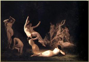 William Adolphe Bouguereau - O Ninfeu
