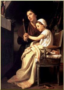 William Adolphe Bouguereau - A oferta de agradecimento