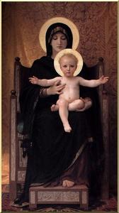 William Adolphe Bouguereau - a virgem e o menino