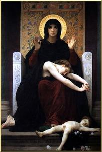 William Adolphe Bouguereau - Virgem da Consolação
