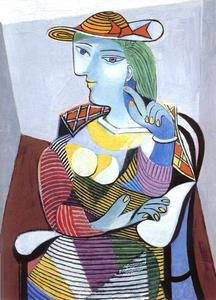 Pablo Picasso - mulher sentada ( Marie-Therese Walter )
