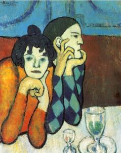 Pablo Picasso - As Duas Saltimbanques