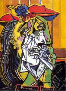 Pablo Picasso - Mulher Weeping