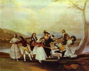 Francisco De Goya - Blind Man Bluff