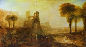William Turner - Caligula-s Palácio e Ponte