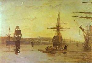 William Turner - Cowes , ilha de wight