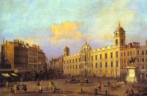 Giovanni Antonio Canal (Canaletto) - Em londres - Northumberland Casa