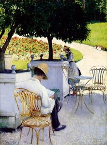 Gustave Caillebotte - orangers les