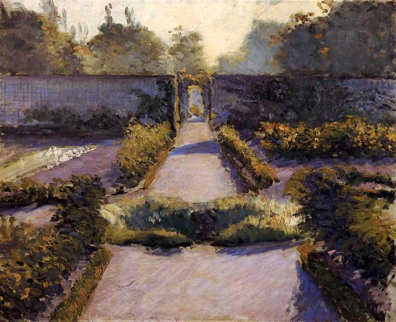 A horta, Yerres, 1877 por Gustave Caillebotte (1848-1894, France) | WahooArt.com
