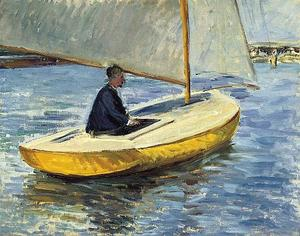 Gustave Caillebotte - o amarelo barco