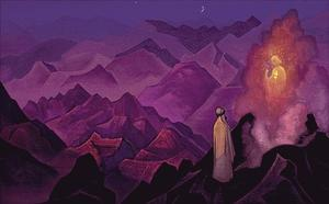 Nicholas Roerich - Mohammed no Monte Hira 1932